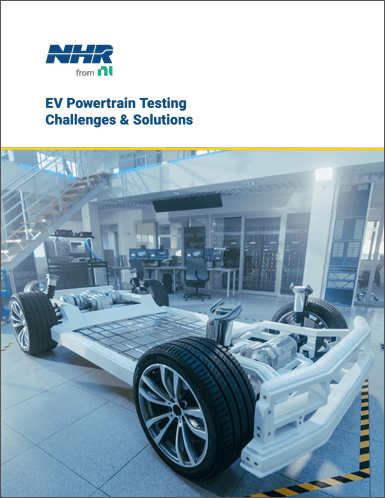 EV Powertrain Test Solutions & Challenges - NH Research (NHR)