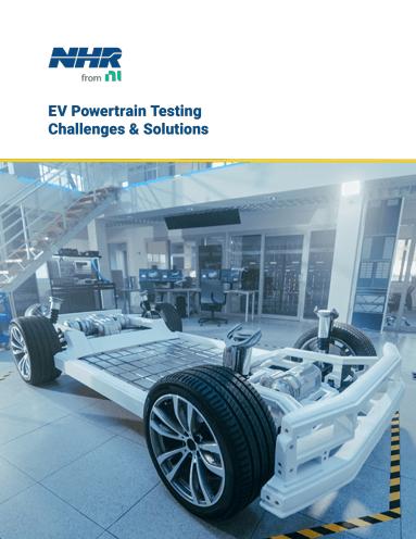 Soluciones y desafíos de prueba del tren motriz EV - NH Research (NHR)
