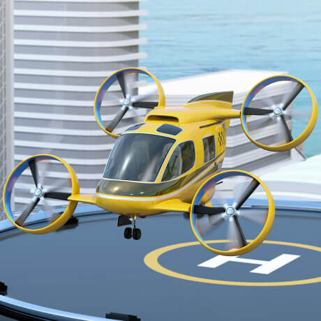 Vuelo eléctrico - NH Research (NHR)