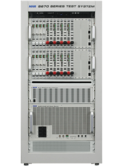 power supply multi channel test system s670 series
