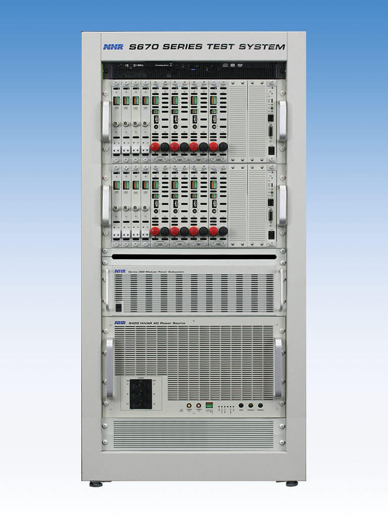 Multi-Channel Test System - NH Research, Inc  (NHR)