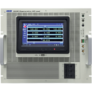 Regenerative AC Load Model 9430 - NH Research (NHR)